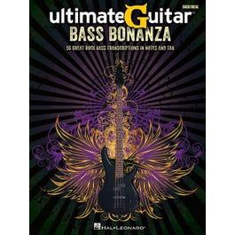 Hal Leonard UltimateGuitar Bass Bonanza