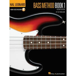 Hal Leonard Bass Method Book 1 – 2nd Edition-Audio Online