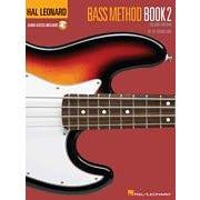 Hal Leonard Bass Method Book 2 – 2nd Edition-Audio Online - TAB