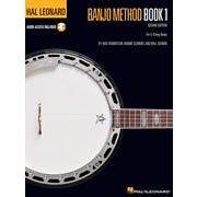 Hal Leonard Hal Leonard Banjo Method – Book 1 – 2nd Edition-Audio Online - TAB
