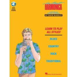 Hal Leonard Instant Harmonica-Book + Audio Online