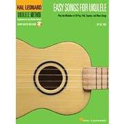 Hal Leonard Easy Songs for Ukulele- Audio Online