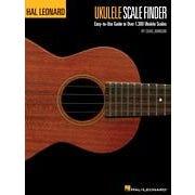 Hal Leonard Ukulele Scale Finder - Easy-to-Use Guide to Over 1,300 Ukulele Scales-9x12 Edition