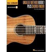 Hal Leonard Hal Leonard Ukulele Method Book 1 Plus Chord Finder -Audio Online