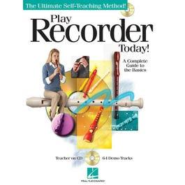 Hal Leonard Play Recorder Today! Audio Online