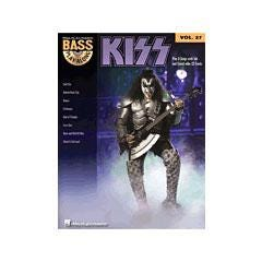 Image for Kiss-Bass Play-Along Volume #27 (Book and CD) from SamAsh