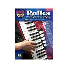 Image for Polka Favorites-Accordion Play-Along Volume #1 (Book a nd CD) from SamAsh