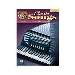 Image for Classic Songs-Accordion Play-Along Volume #3 (Book and CD) from SamAsh