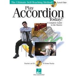 Hal Leonard Play Accordion Today ! Level 1-Audio Online