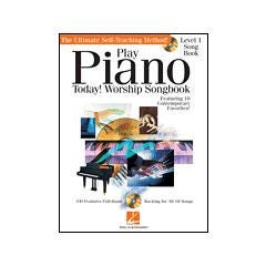 Image for Play Piano Today! - Worship Songbook (Book and CD) from SamAsh