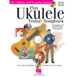 Hal Leonard Play Ukulele Today! Songbook (Book and CD)