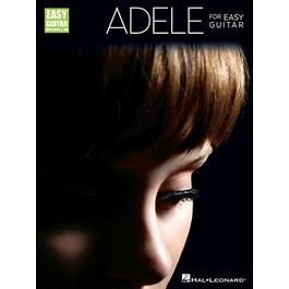 Hal Leonard Adele for Easy Guitar-Includes Notes & Tab