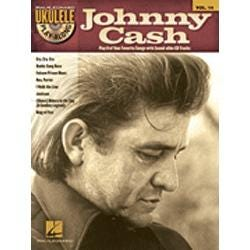 Image for Johnny Cash-Ukulele Play-Along Volume #14 (Book and CD) from SamAsh