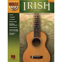 Hal Leonard Irish Songs  Ukulele Play-Along Volume 18 -Audio Online