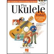 Hal Leonard Play Ukulele Today! – Starter Pack-Levels 1 & 2 Book/CDs and a DVD