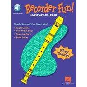 Hal Leonard Recorder Fun! Teach Yourself the Easy Way!Audio Online