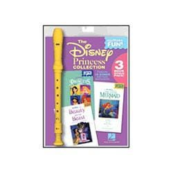 Image for The Disney Princess Collection Recorder Fun! 3 Book Bonus Pack with Recorder from SamAsh