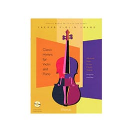 Image for Classical Hymns for Violin and Piano (Book and CD) from SamAsh