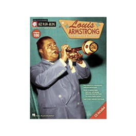 Image for Louis Armstrong-Jazz Play-Along Volume #100 (Book and CD) from SamAsh