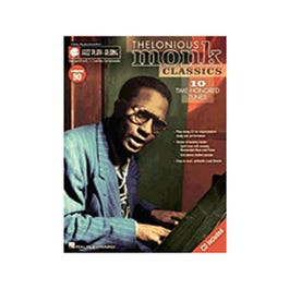 Image for Jazz Play-Along Volume # 90 Thelonious Monk Classics (Book and CD) from SamAsh