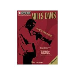 Image for Miles Davis Jazz Play Along Series Book and CD from SamAsh