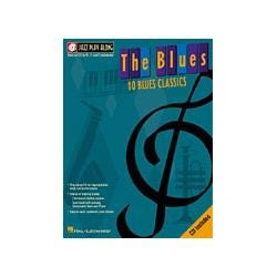 Image for The Blues Jazz Play Along Series Book & CD from SamAsh