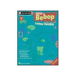 Image for The Best of Bebop Jazz Play Along Series Book & CD from SamAsh