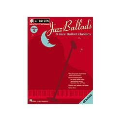 Image for Jazz Ballads Jazz Play Along Series Book and CD from SamAsh