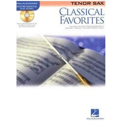 Image for Classical Favorites (Tenor Sax) Book and CD from SamAsh