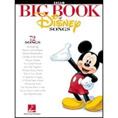Image for The Big Book of Disney Songs (Cello) from SamAsh