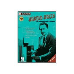Image for Jazz Play Along Harold Arlen Vol. 18 Book and CD from SamAsh