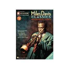 Image for Miles Davis Standards -Jazz Play-Along Series Volume 79 (Book and CD) from SamAsh
