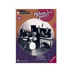 Image for Modern Jazz Quartet Classics-Jazz Play-Along Volume #151 (Book and CD) from SamAsh