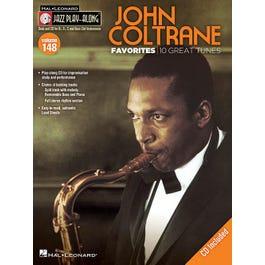 Hal Leonard John Coltrane Favorites  Jazz Play-Along Volume 148 -with CD