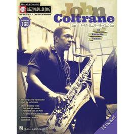 Hal Leonard John Coltrane Standards-Jazz Play-Along Volume 163