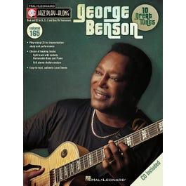 Hal Leonard George Benson-Jazz Play-Along Volume 165