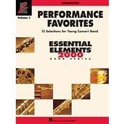 Hal Leonard Performance Favorites, Vol. 1 - Conductor