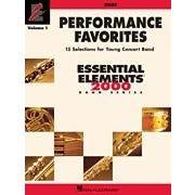 Hal Leonard Performance Favorites, Vol. 1 - Oboe-Level: 2