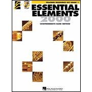 Hal Leonard Essential Elements  Book 1 – Teacher Resource Kit with CD-ROM