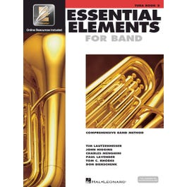 Hal Leonard Essential Elements–Tuba B.C. Book 2 W/  EEI-Bk +Audio