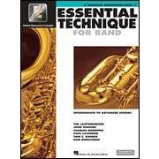 Hal Leonard Essential Technique for Band – Intermediate to Advanced Studies-Eb Baritone Saxophone- Audio Online