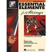 Hal Leonard Essential Elements 2000 for Strings Plus DVD - String Bass Book-BK+AUDIO
