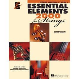 Hal Leonard Essential Elements 2000 for Strings – Book 1  Teacher Resource Kit -Book+CD