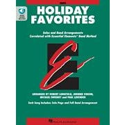 Hal Leonard Essential Elements Holiday Favorites  Oboe Book with Online Audio