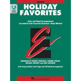 Hal Leonard Essential Elements Holiday Favorites-Bassoon- Book + Audio Online