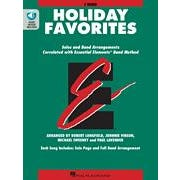 Hal Leonard Essential Elements Holiday Favorites  F Horn Book with Online Audio