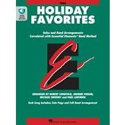 Hal Leonard Essential Elements Holiday Favorites  Tuba Book (B.C.) with Online Audio