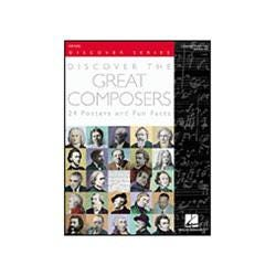 Image for Discover the Great Composers (Set of 24 Posters) from SamAsh