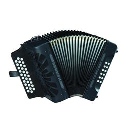 Image for COFB Compadre Accordion F/Bb/Eb (Black) from SamAsh
