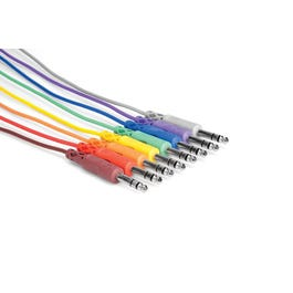 Image for CSS800 TRS Patch Cables (Pack of 8) from SamAsh
